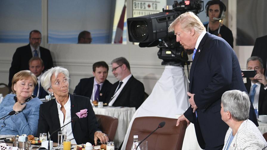 На Г 7 - напредък със САЩ за търговията, но разговорите продължават
