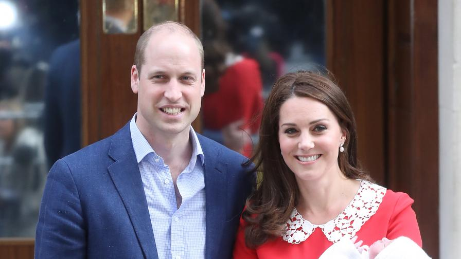 Кръщават принц Луи, кралицата няма да присъства