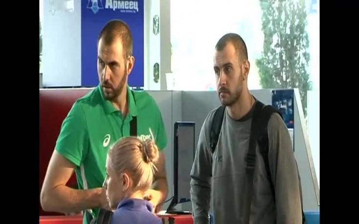 Волейболистите се прибраха и веднага тръгнаха за Варна