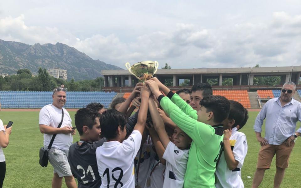 Витоша 13 стана шампион на България при децата