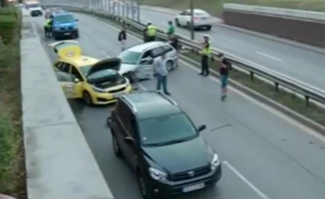 Пиян шофьор причинил верижната катастрофа в София