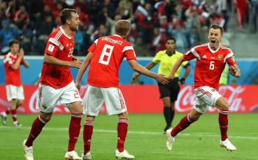 Русия излиза с оптимален  състав срещу Уругвай