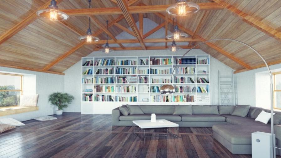 12 страхотни идеи за тавански помещения