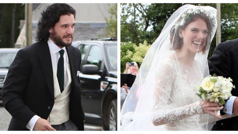 Джон Сняг и Игрид се ожениха: горчиво за младоженците Кит Харингтън и Роуз Лесли!