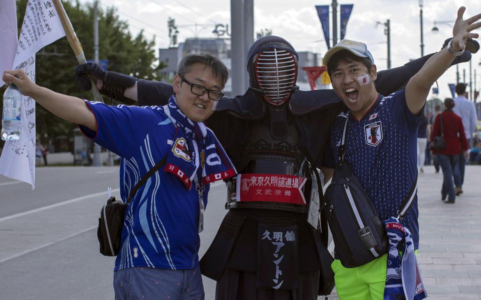 Феновете на Япония и Сенегал