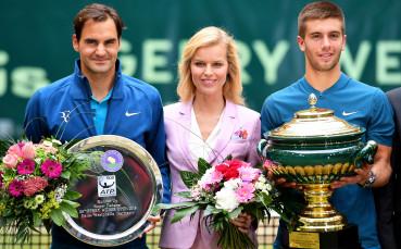 Млад хърватин спря Федерер за титлата в Хале
