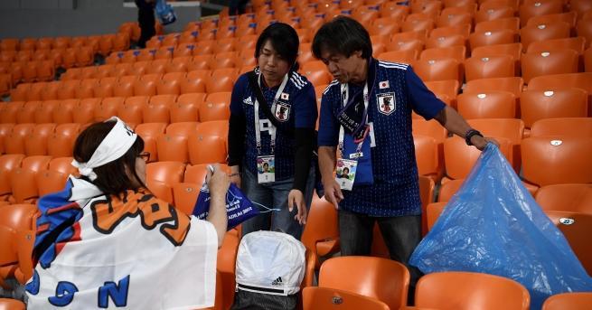 Феновете на Сенегал и Япония предизвикаха вълна от уважение и