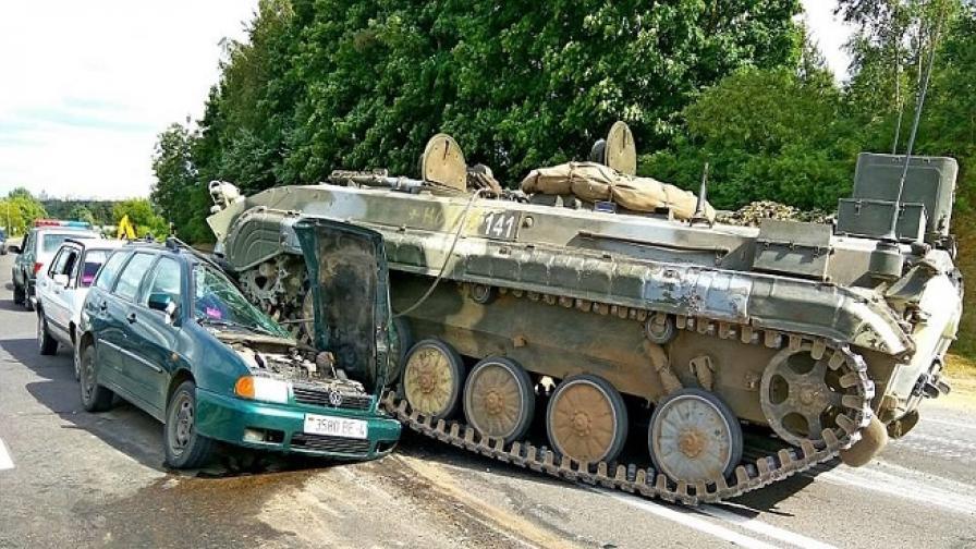 Челен удар! Победител е танкът