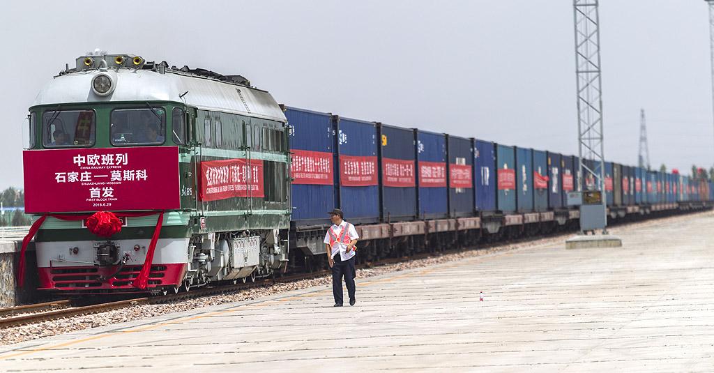1. Нов евразийски континентален мост – свързва източното китайско крайбрежие при провинция Дзянсу с Ротердам в Холандия. Проектът се състои от търговски коридор по земя и морски маршрут, които стигат до Европа и са предназначени за ускоряване и улесняване на търговията с Китай. Коридорът по земя има амбицията да намали времето за доставка с влак от 36 до 10 дни и да го направи силно конкурентен на морските доставки