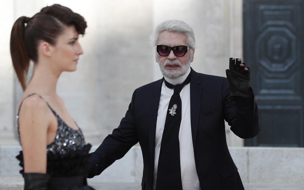 Karl Lagerfeld за Chanel