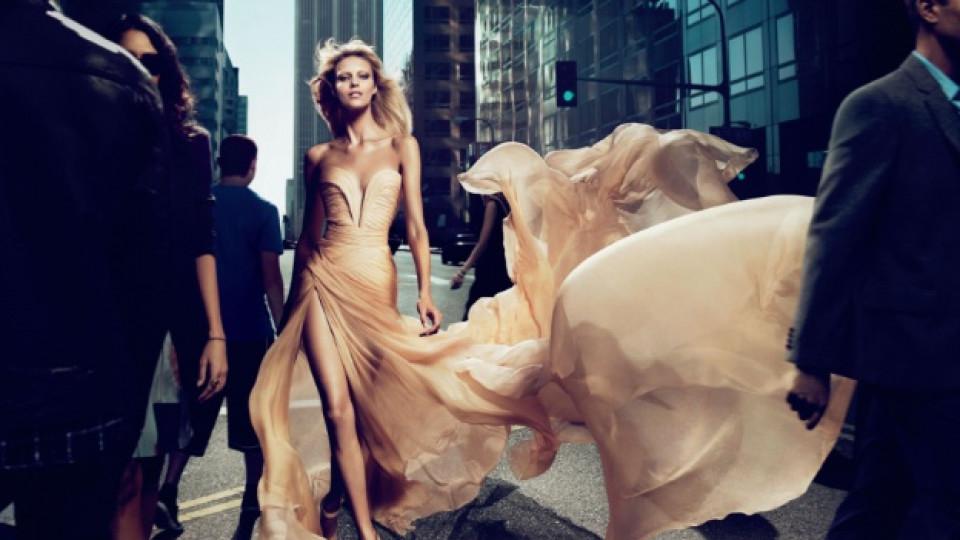 Родената в Полша през 1985 г. Аня Рубик е лице на Elie Saab Le Parfum
