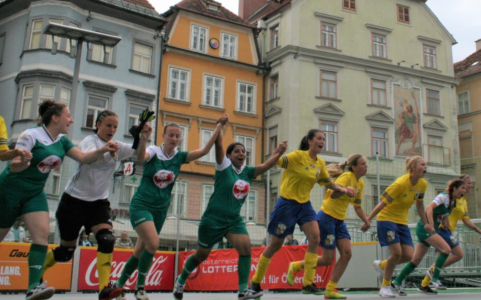 България с трето място на Европейския стрийт футбол фестивал