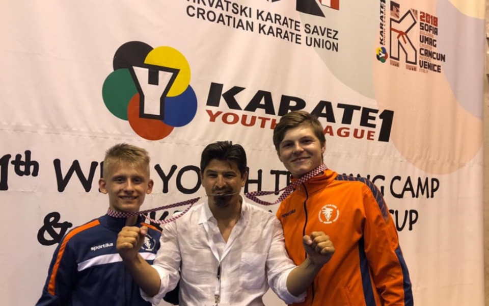 Три медала за България от световната лига по карате