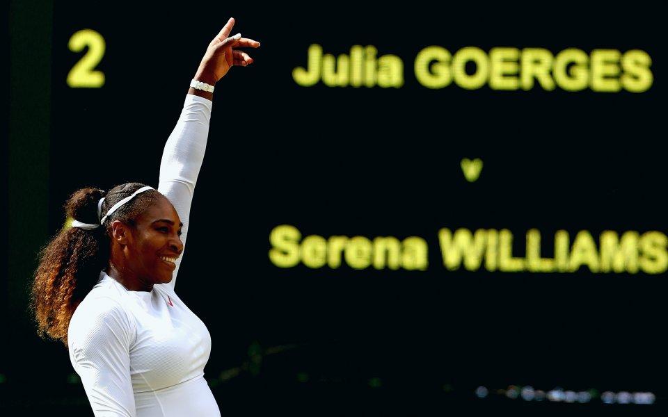 10 месеца, след като роди: Серина Уилямс отново на финал на Уимбълдън