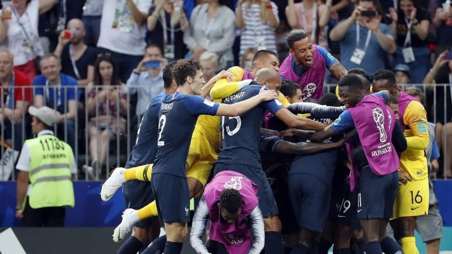 Франция е големият победител на Мондиал 2018