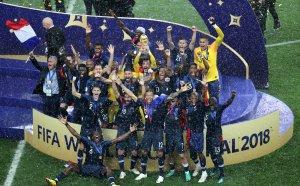 Франция попари хърватските мечти и стъпи на световния връх!