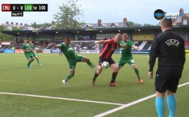 Лудогорец оформи на 9:0 общия резултат срещу Крусейдърс