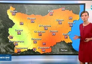Прогноза за времето (19.07.2018 - централна емисия)