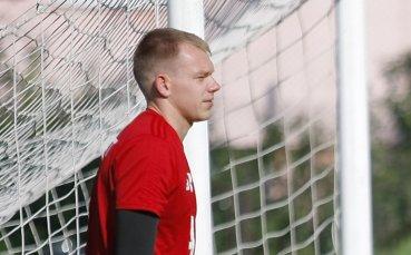 Вратарят на ЦСКА заслужи първото място в