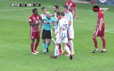 Напрежение в наказателното поле на ЦСКА