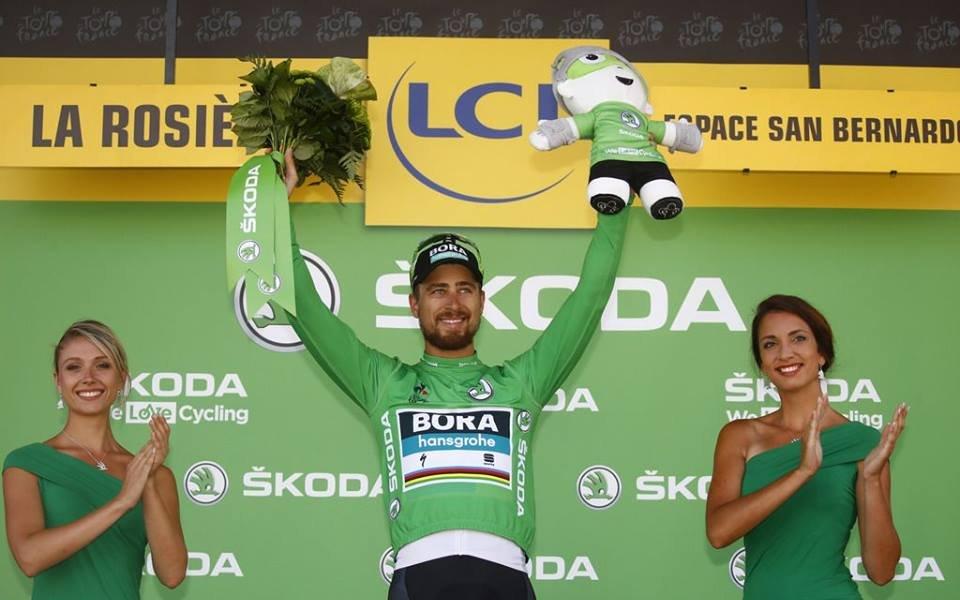 Трета победа за Саган в Тур дьо Франс