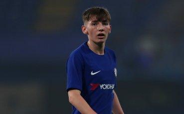 17-годишен талант подписа първи професионален договор с Челси
