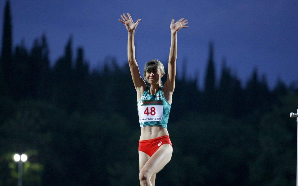 Мирела Демирева триумфира на Балканското в Стара Загора