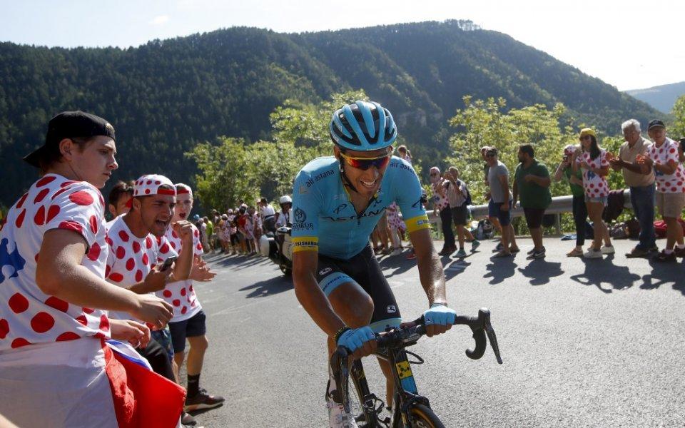 Испанец спечели 14-ия етап от Тур дьо Франс