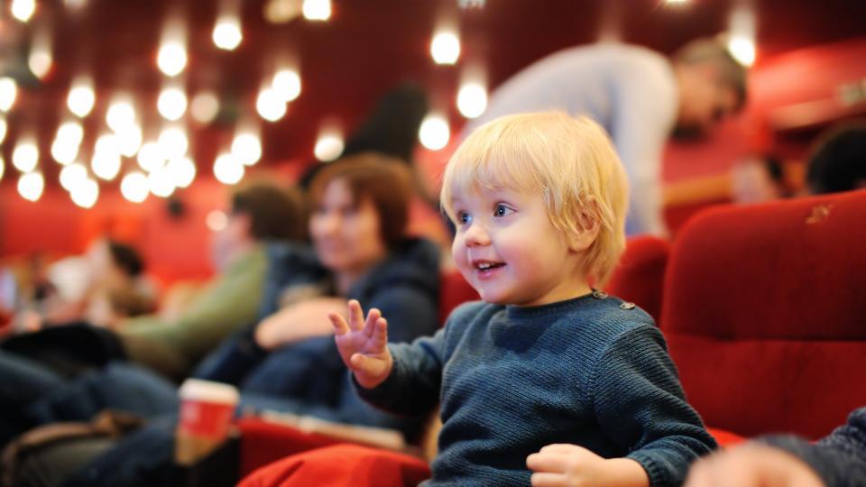 кино с деца и бебета Дом на киното