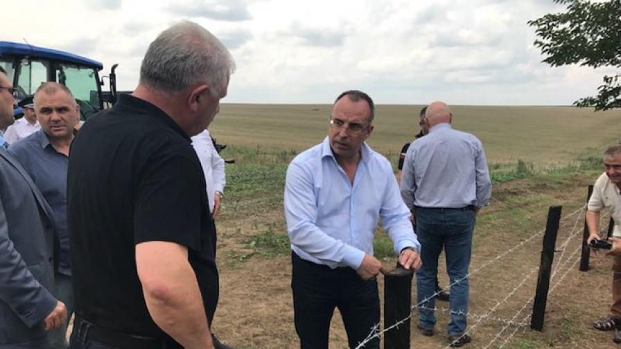Телена ограда по границата с Румъния ще ни пази от чумата