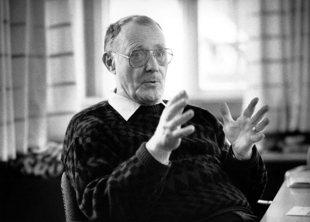 Ингвар Кампрад (1926-2018) бе един от най-големите предприемачи на 20-ти век. Почина на 91 години. Той е основателят на ИКЕА.