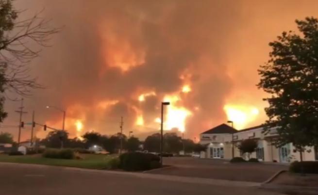 Огромни пожари в Калифорния отнеха живота на двама