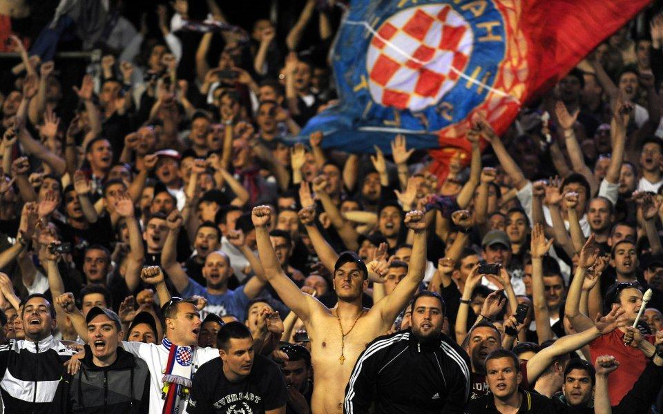 Феновете подпукаха Хайдук преди реванша със  Славия
