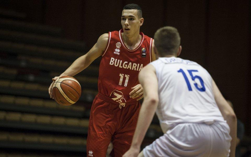 Партизан с интерес към български баскетболист