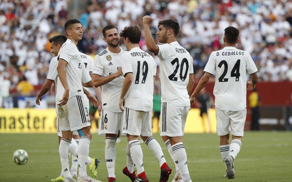 Асенсио блести при обрат на Реал срещу Юве