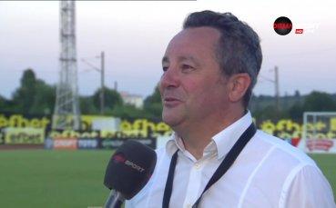 Стоянович иска нови: Спокойно - крачка по крачка