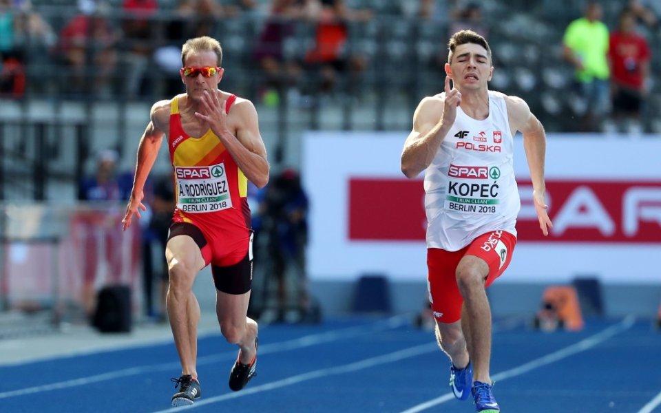 Денис Димитров и Петър Пеев отпаднаха в сериите на 100 метра на европейското