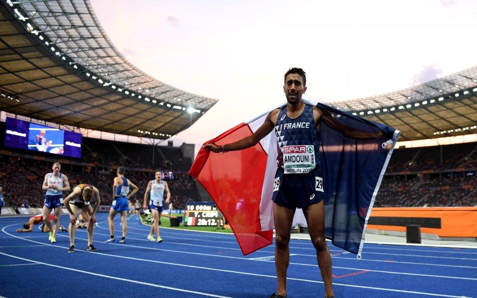 Французин триумфира в бягането на 10000 м