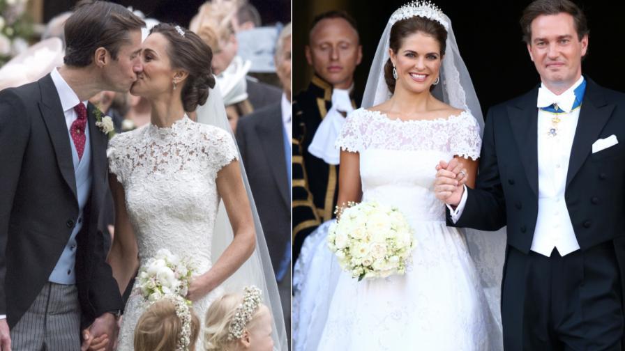 Пипа Мидълтън и шведската принцеса Маделин