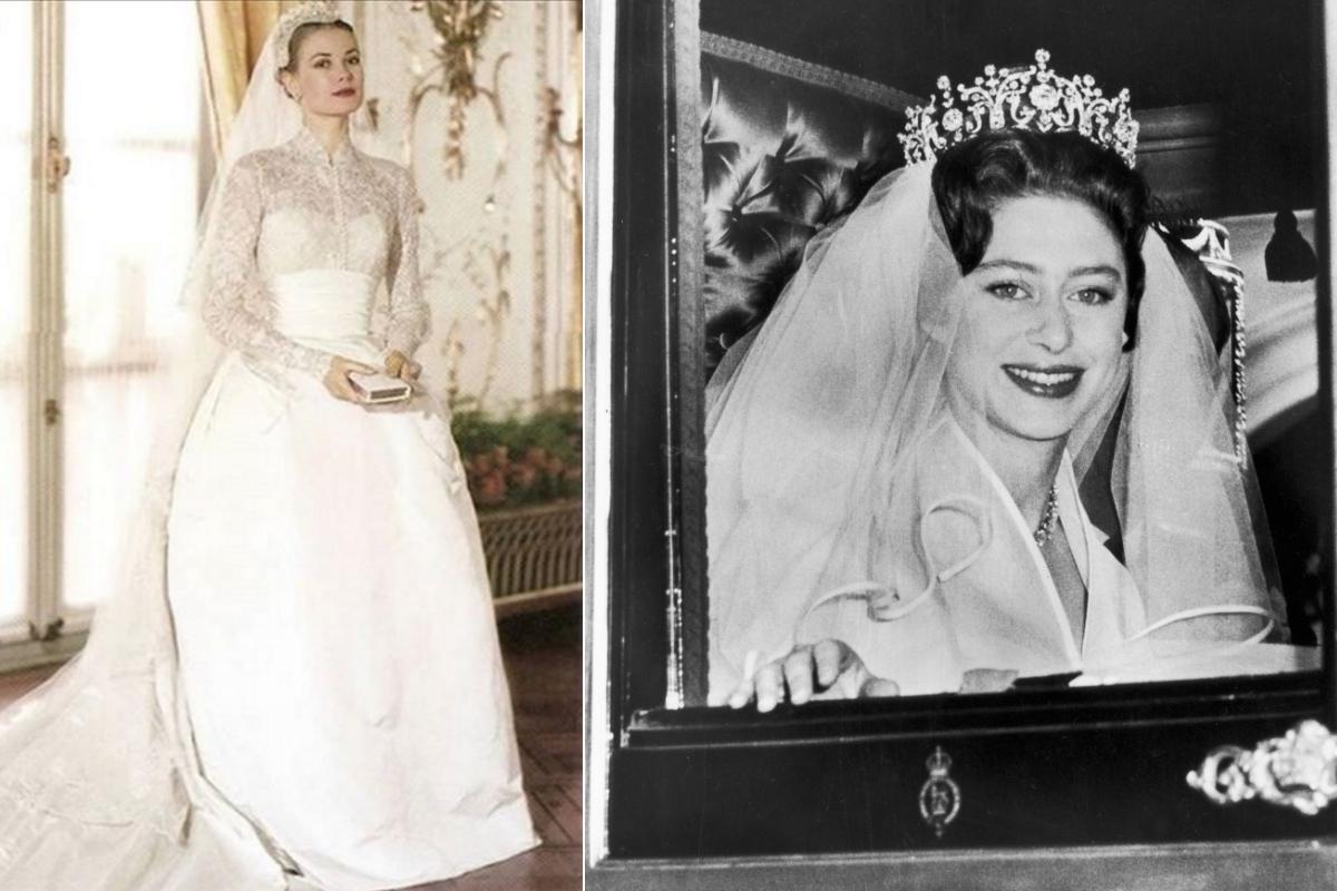 Принцесата на Монако Грейс и британската принцеса Маргарет