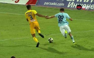 Дунав поведе на Левски след дискусионна дузпа