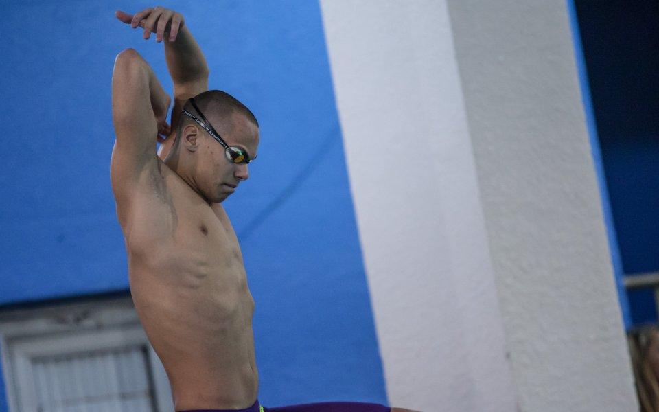 Антъни Иванов грабна Държавната титла на 100 метра свободен стил