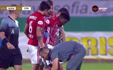 Още проблеми за ЦСКА, травмата на Жоржиньо май е сериозна