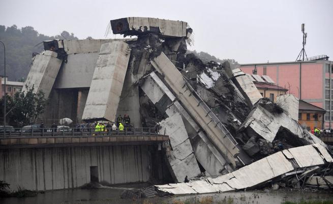 Срути се магистрала в Италия, много жертви и ранени