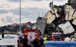 Вратар преживя апокалипсиса на моста в Генуа