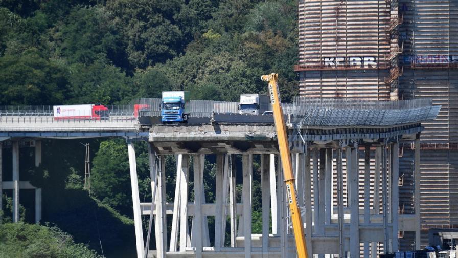 Срутеният мост в Генуа - емблема на застоя на Италия
