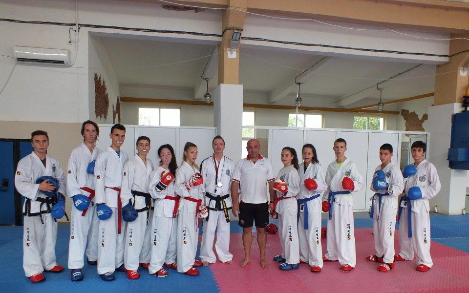 Последни тренировки за тима ни преди Световното по таекуондо ITF