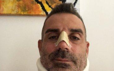 Роналдо изпрати в болницата вратаря на Киево