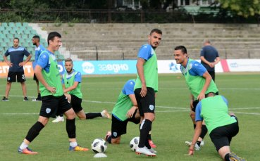 Черно море започна подготовка за мача със Славия