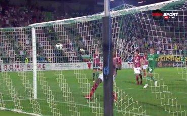 Вандерсон покоси ЦСКА с красив гол